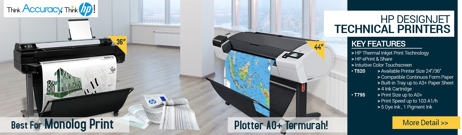 hp designjet technical printers
